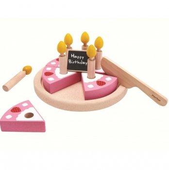 Деревянная игрушка PlanToys® Именинный торт