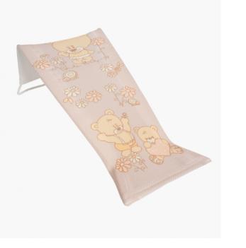 Лежак для купания Tega baby Мишки, кремовый