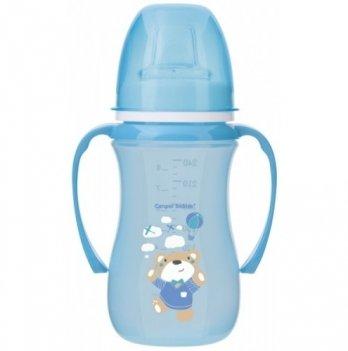 Тренировочная кружка Canpol babies EasyStart - Sweet Fun, 240мл, синяя