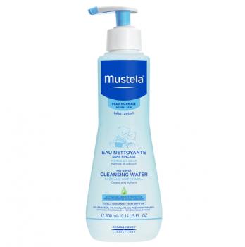 Очищающая жидкость для кожи Mustela No Rinse Cleansing Water, 300 мл