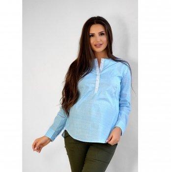 Блуза для беременных и кормящих To Be Небесно-голубой 1707224