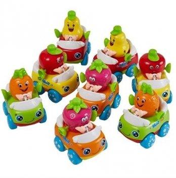 Набор игрушек Huile Toys 356A Машинка Тутти-Фрутти 8 шт