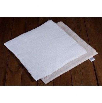 Подушка льняная в коляску (ткань лен), ЛинТекс