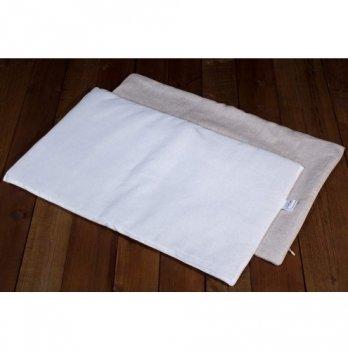 Подушка льняная в кроватку (ткань лен), ЛинТекс