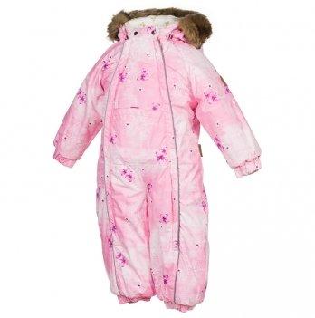 Комбинезон зимний для девочки Huppa, REGGIE 1, розовый