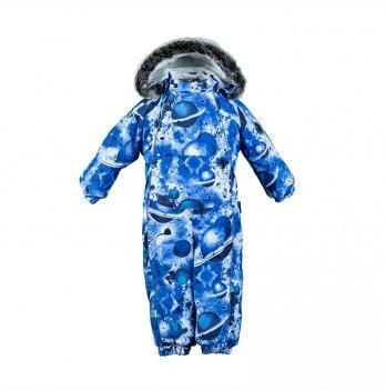 Детский зимний термо комбинезон Huppa, REGGIE 1, синий Сатурн