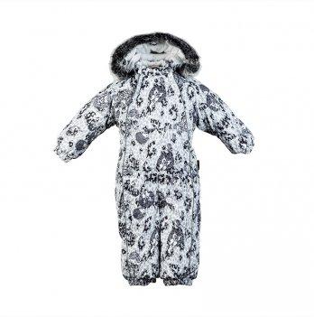 Детский зимний термо комбинезон Huppa, REGGIE 1, серый