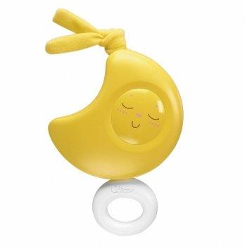 Игрушка музыкальная с кольцом Chicco Луна