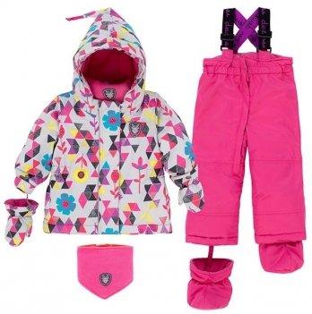 Зимний костюм (куртка и полукомбинезон) Deux par Deux B 503-005