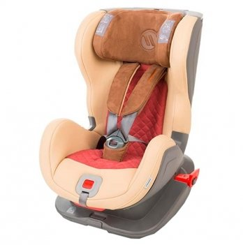 Детское автокресло Avionaut Glider Royal Iso-Fix (гр.1-2), Beige/Red
