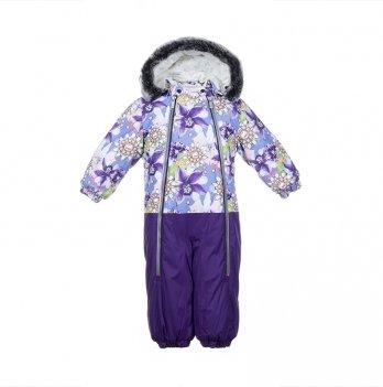 Детский зимний термо-комбинезон Huppa, DEVON 2, фиолетовый