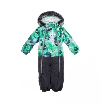 Детский зимний термо-комбинезон Huppa, DEVON 2, серый