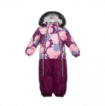 Детский зимний термо-комбинезон Huppa, DEVON 2, бордовый