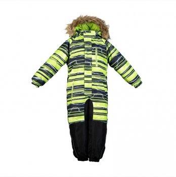 Комбинезон зимний для мальчика Huppa FENNO, зеленый