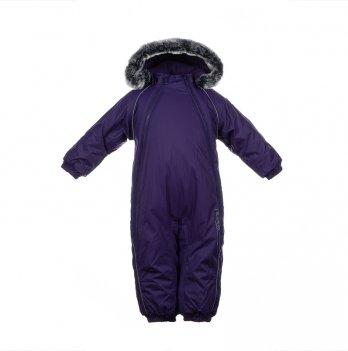 Комбинезон зимний для малышей Huppa ORION, фиолетовый