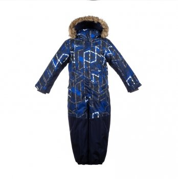 Комбинезон зимний для мальчика Huppa BRUCE, синий
