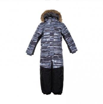 Комбинезон зимний для мальчика Huppa BRUCE, серый