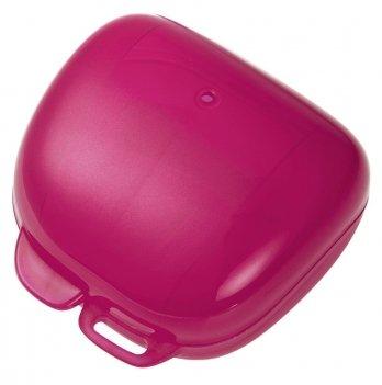 Футляр (стерилизатор) для пустышки NIP, розовый