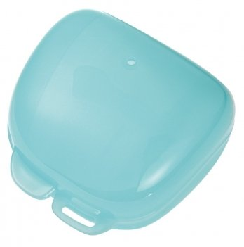 Футляр (стерилизатор) для пустышки NIP, голубой