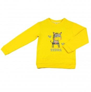Кофта для девочки Danaya 2-6 лет Желтый 370/H18