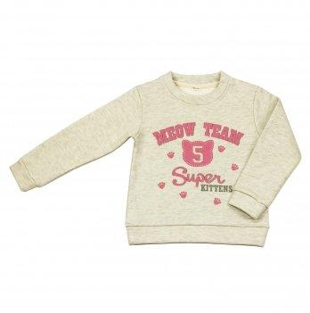 Кофта для девочки Danaya 2-6 лет Серый 372/H18