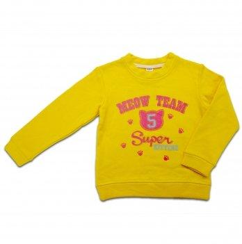 Кофта для девочки Danaya 2-6 лет Желтый 373/H18