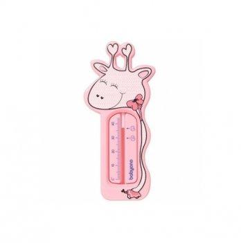 Термометр плавающий BabyOno Жираф 775/01, розовый