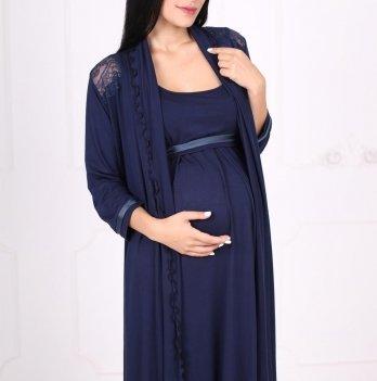 Комплект для беременных кормящих Znana Lace темно-синий