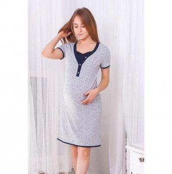 Ночная сорочка для беременных и кормящих Znana Favorite Серый 097-38