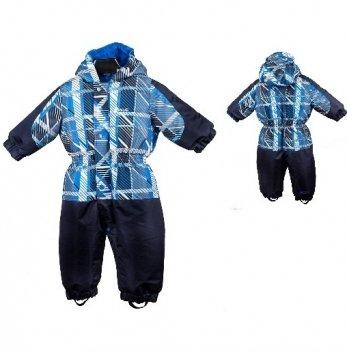 Комбинезон зимний для мальчика Gusti, 2594 SWB, серый/голубой