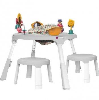 Игровой столик Oribel Portaplay Wonderland + 2 стульчика