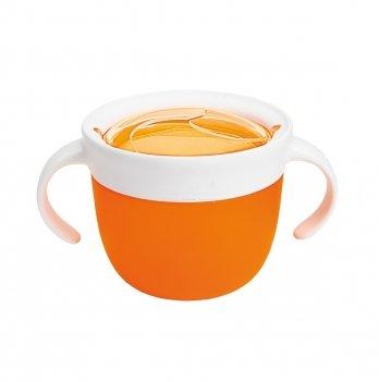 Контейнер для печенья Munchkin Click Lock, оранжевый