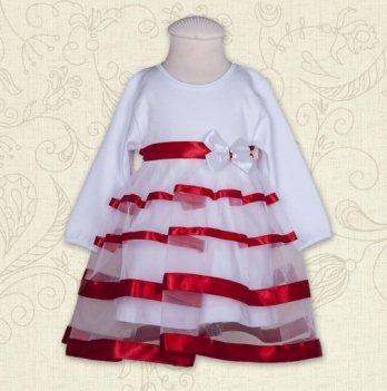 Платье Бетис Маленькая Леди интерлок Красный 27070385