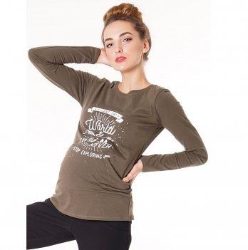 Джемпер для беременных To Be Хаки 4020041-45