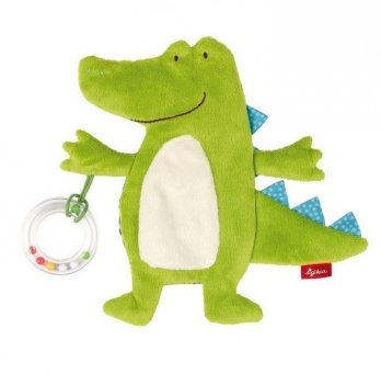 Мягкая шуршащая игрушка Sigikid Крокодил 20 см 41880SK