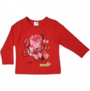 Джемпер Garden baby для девочки, красный, 39048-16