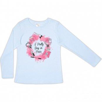 Джемпер для девочки Garden baby, голубой, 39050-02