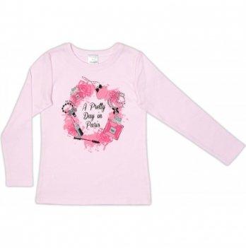 Джемпер для девочки Garden baby, розовый, 39050-02