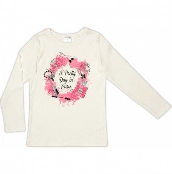 Джемпер для девочки Garden baby, светло-молочный, 39050-02