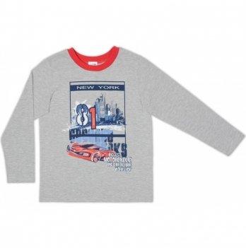 Джемпер для мальчика Garden baby, серый меланж, 39052-02