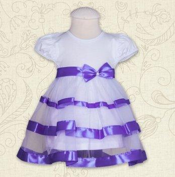 Платье Бетис Маленькая Леди кулир Фиолетовый 27072152