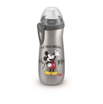 Поильник Disney Mickey Sport NUK 3954042 черный с серым 450 мл