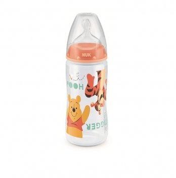 Бутылочка First Choice Plus Disney NUK 3954047 персиковый 300 мл