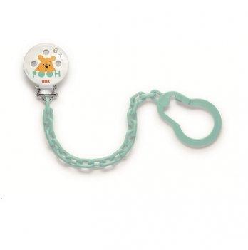 Держатель для пустышки пластик Disney NUK 3954086 голубой