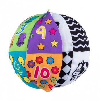 Игрушка мягкая Balibazoo Мячик двухсторонний 80202