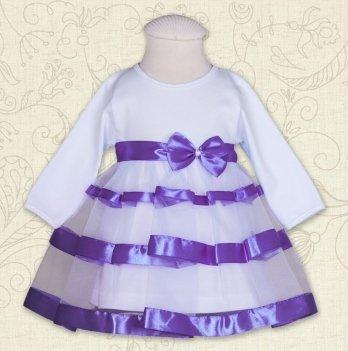 Платье Бетис Маленькая Леди интерлок Фиолетовый 27071700