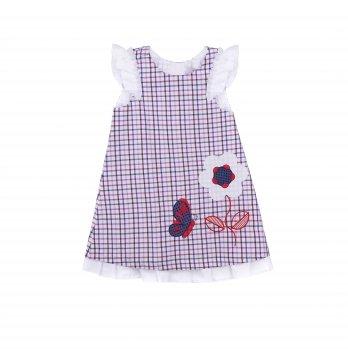 Детское платье ТМ Sasha Клеточка 3972