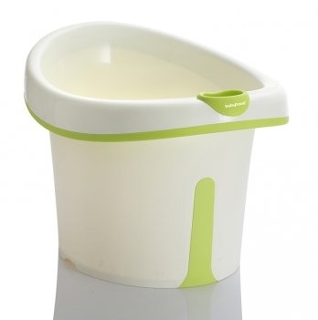 Ванночка сидячая Babyhood, Винни, зеленая