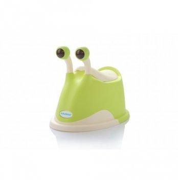 Горшок Babyhood, Улитка, зеленый