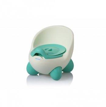 Горшок Babyhood, Кью-кью, на ножках, нежно-зеленый